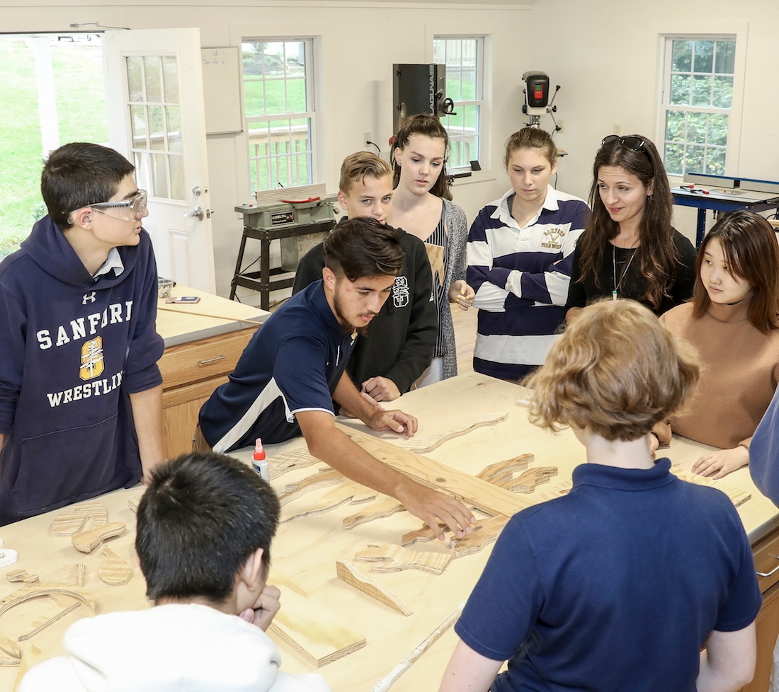 Building Creative Minds In The Woodworking Shop